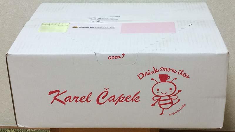 カレルチャペック2021福袋の入っていた箱